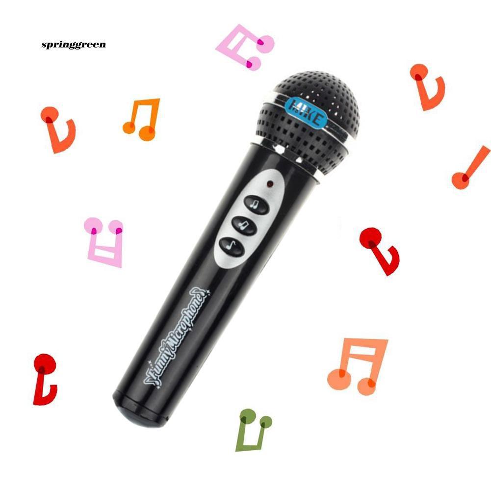 SPR♥Fashion Girls Boys Microphone Mic Karaoke Singing Kids Funny Gift Music Toy