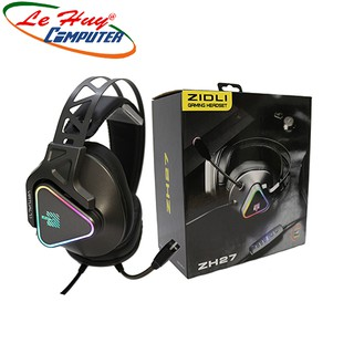 Tai nghe Gaming Zidli ZH27 Virtual 7.1 USB Led