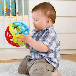 Đồ chơi chuông lắc cầm tay hình mặt cười dễ thương cho bé