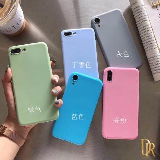Ốp Điện Thoại Màu Trơn Đơn Giản Cho Xiaomi Redmi Note 7 Redmi 7 Redmi Note 7