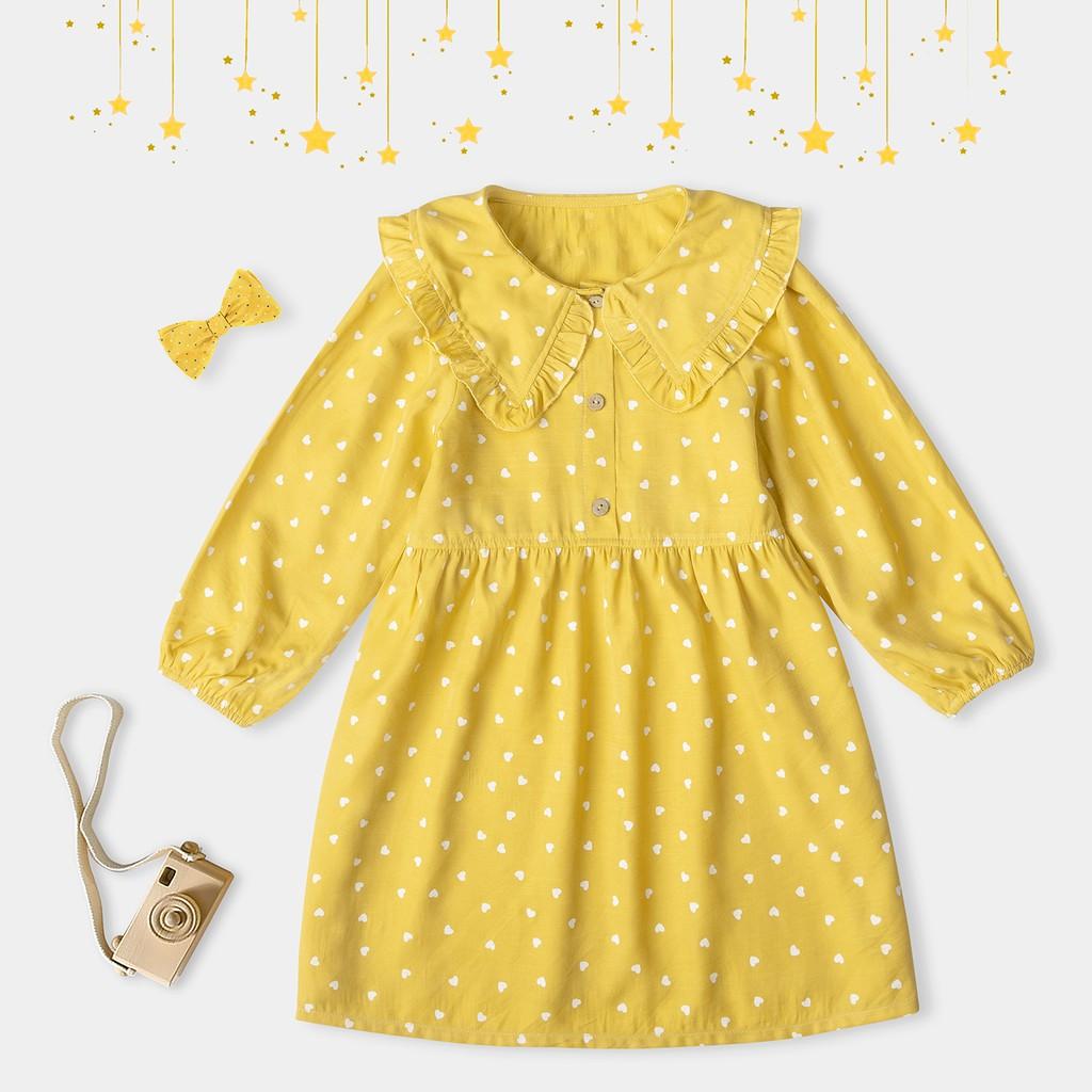 Váy Cho Bé Gái Trái Tim Nhiều Màu Thời Trang Bello Land