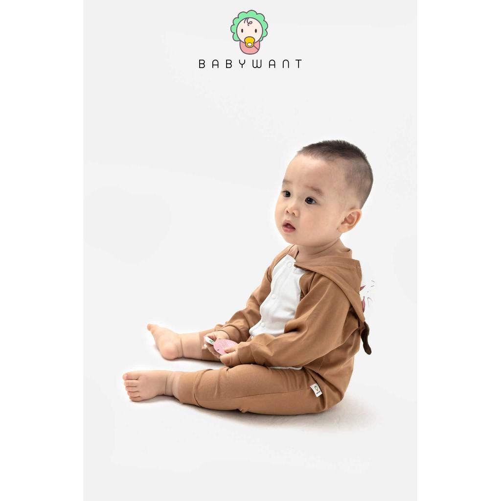 Body thú dài tay mẫu mới chất lượng cao cho bé từ 3 đến 13kg