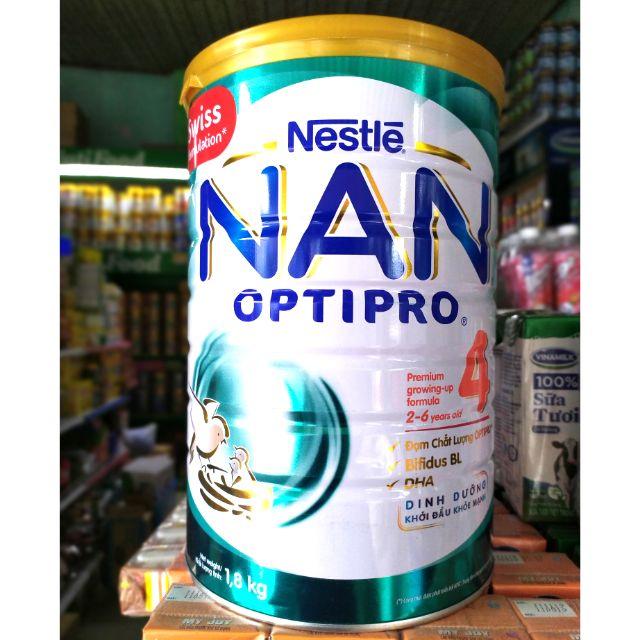 Sữa NAN OPTIPRO 4 1,8kg Sản xuất tại Phi