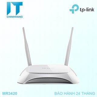 Bộ Phát Wifi Tp-Link MR3420 Chuẩn N 3G/4G-