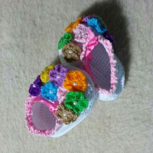 Giày và Băng đô baby GD 1