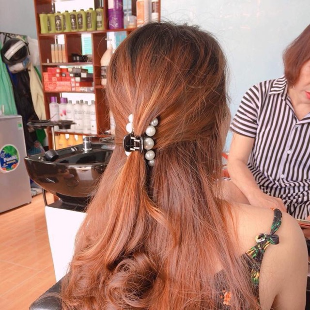 Kẹp tóc Ngọc trai