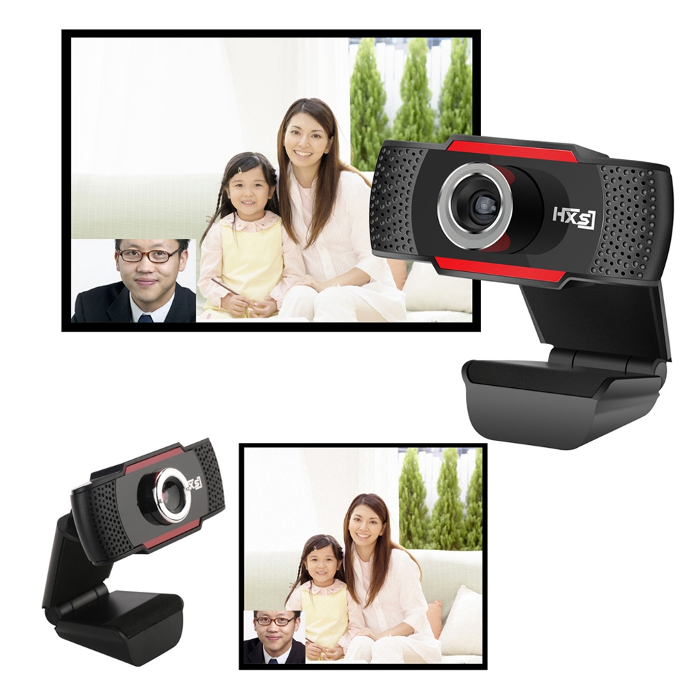 For Computer Well-designed Camera Manual Focus Adjustment Optical Lens High Definition Webcam Rotatable