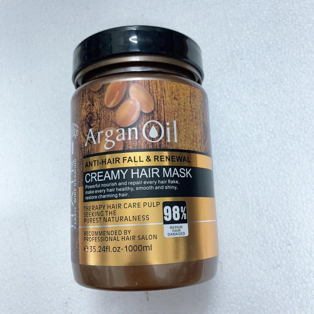 Hấp Dầu Argan Oil 1000ml siêu mềm mượt