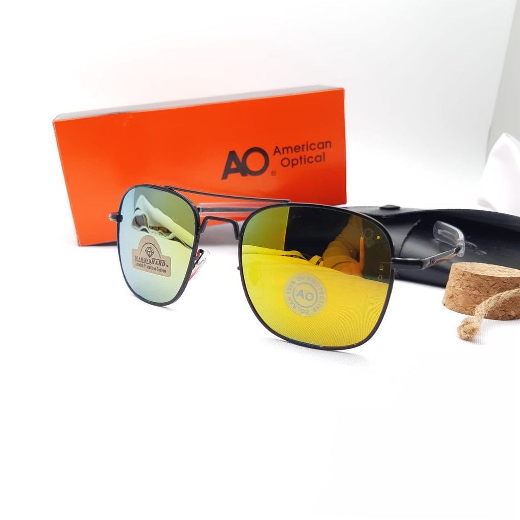 Mắt kính phi công Ao 52 kiểu Mỹ cá tính cho nam