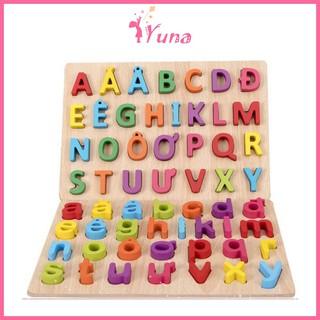 Bảng chữ cái Tiếng Việt nổi in hoa và in thường - Đồ chơi thông minh cho bé