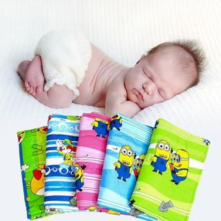 Chăn mền cotton Thắng Lợi cho bé (105x85cm) GIAO MẪU NGẪU NHIÊN, hàng VN 100% cotton cao cấp - chan cho be - men cho be thumbnail