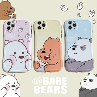 Cartoon Cute We Bare Bears Phone Soft Case For iPhone 11 PRO MAX 7 8 plus XS MAX XR SE2 Case Soft Silicon Back Shell