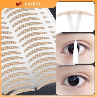 Miếng dán kích mí vân lưới siêu tàng hình set 40 cái dán tạo mí ren giúp đôi mắt to tròn tự nhiên HATOLA thumbnail