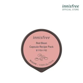 Mặt nạ rửa dạng hủ từ đậu đỏ innisfree Capsule Recipe Pack Redbean 10ml