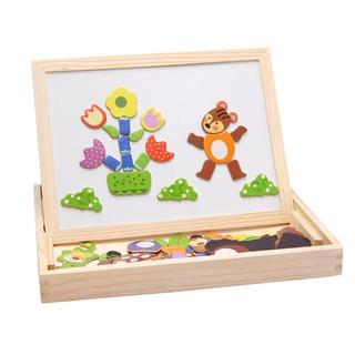 Hộp đồ chơi gỗ thông minh – Bộ đồ chơi gỗ phát triển trí tuệ cho trẻ