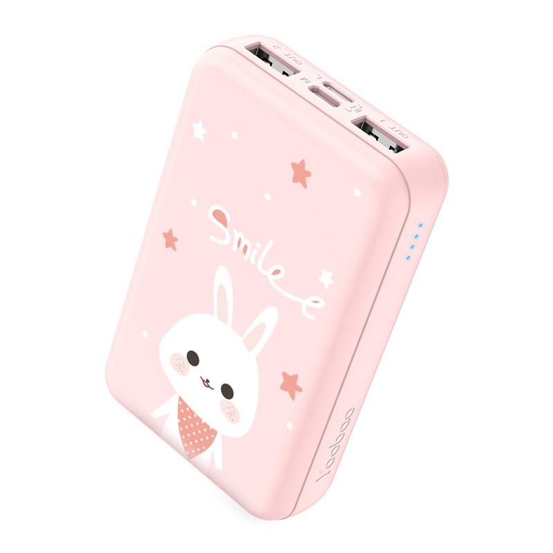 Pin Sạc dự phòng Yoobao mini 10000mAh P10W nhỏ gọn nhiều mẫu hình cute cho bạn gái ✪ CHÍNH HÃNG ✪