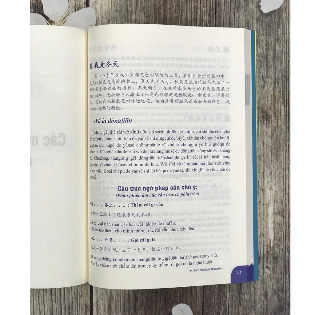 Sách - Bài tập luyện dịch tiếng Trung ứng dụng sơ trung cấp - Phiên bản mới 2021