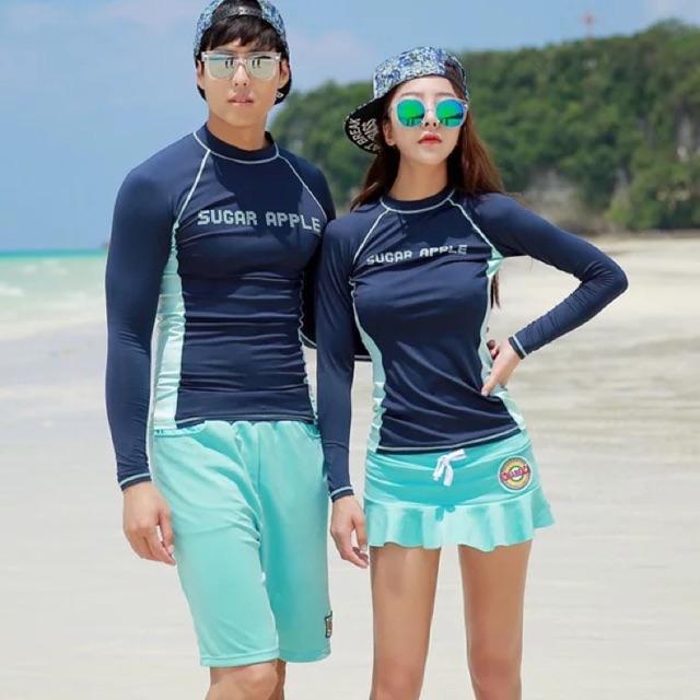 Bikini tay dài cặp đôi/Đồ bơi đôi tay dài phong cách Hàn Quốc - 2503777 , 1018695838 , 322_1018695838 , 350000 , Bikini-tay-dai-cap-doi-Do-boi-doi-tay-dai-phong-cach-Han-Quoc-322_1018695838 , shopee.vn , Bikini tay dài cặp đôi/Đồ bơi đôi tay dài phong cách Hàn Quốc