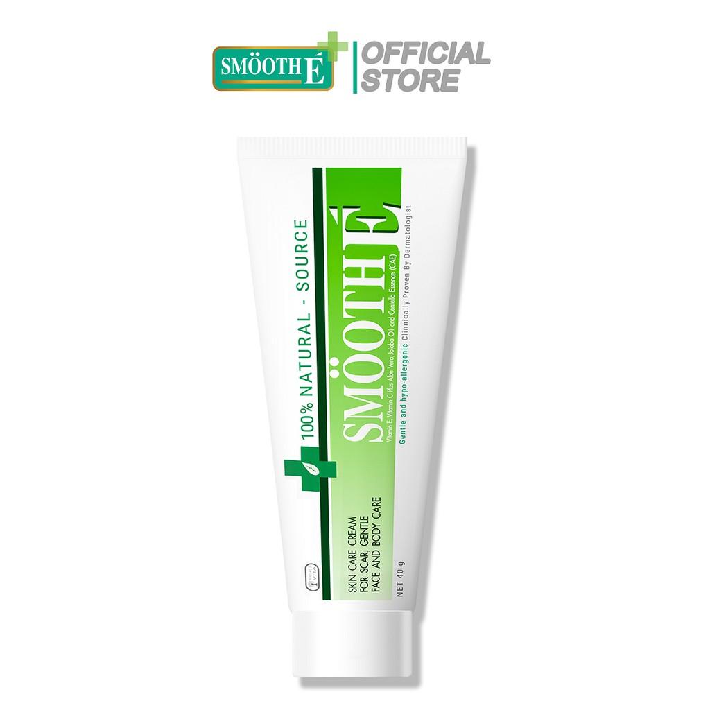 Smooth E VN - Kem dưỡng ẩm mờ thâm mụn Cream 100% Natural - Source