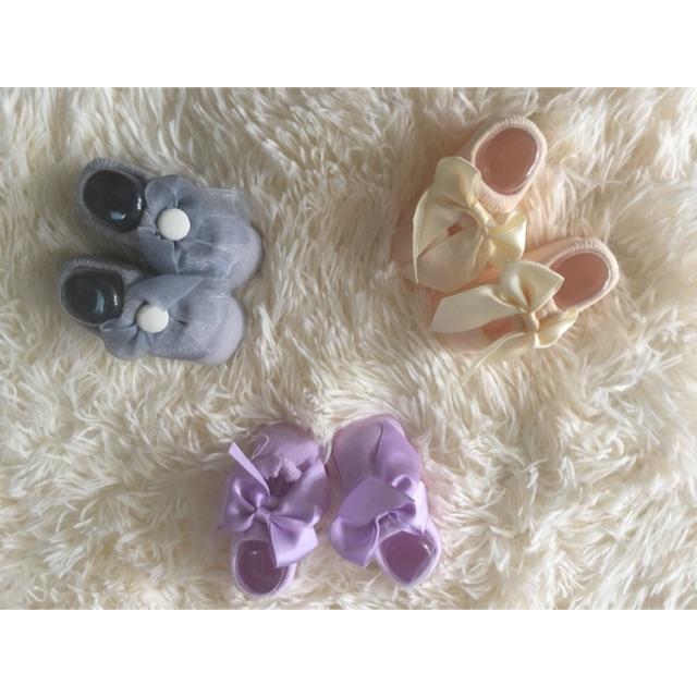 Tất giày bé gái sơ sinh