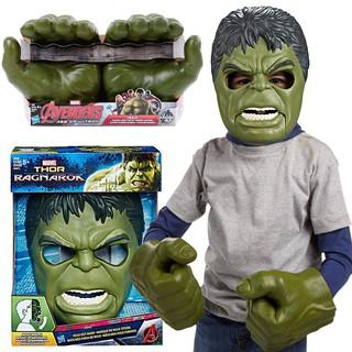 Mặt Nạ và Găng tay Hulk