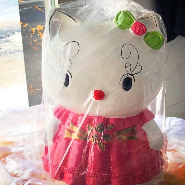 Heo đất tiết kiệm Hello Kitty khổng lồ