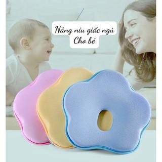 Gối cao su non chống méo đầu cho bé