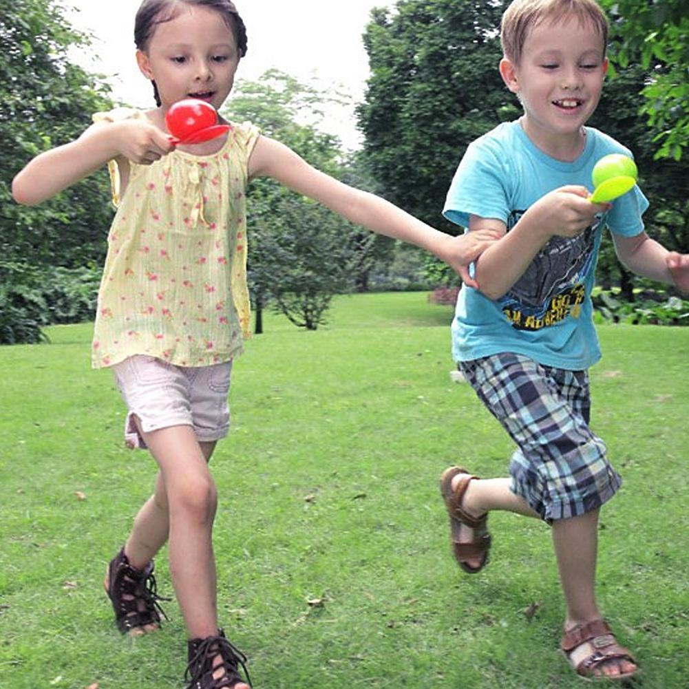 Justgogo Balance Egg Running Children Sports Educational Game Outdoor Toy