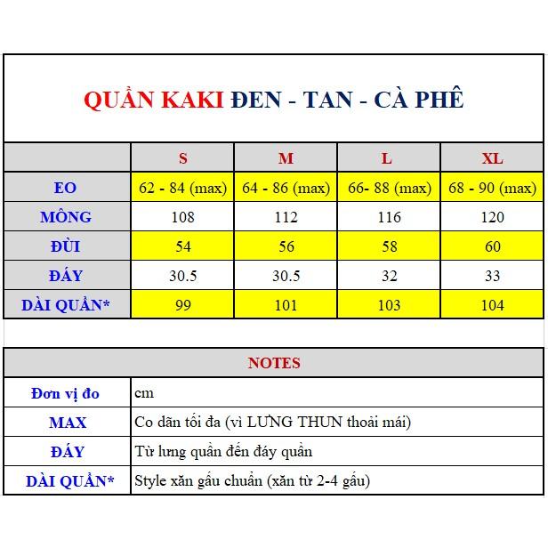 Nhập WAPCK111 giảm 25k đơn từ 200k - QUẦN KAKI BASIC PANTS ĐEN UNISEX