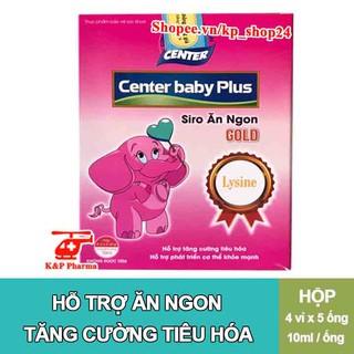 [CHÍNH HÃNG] Siro ăn ngon Center Baby Plus Gold - Hỗ trợ bé ăn ngon, tăng cường hấp thu, tiêu hóa tốt, bổ sung lysine thumbnail