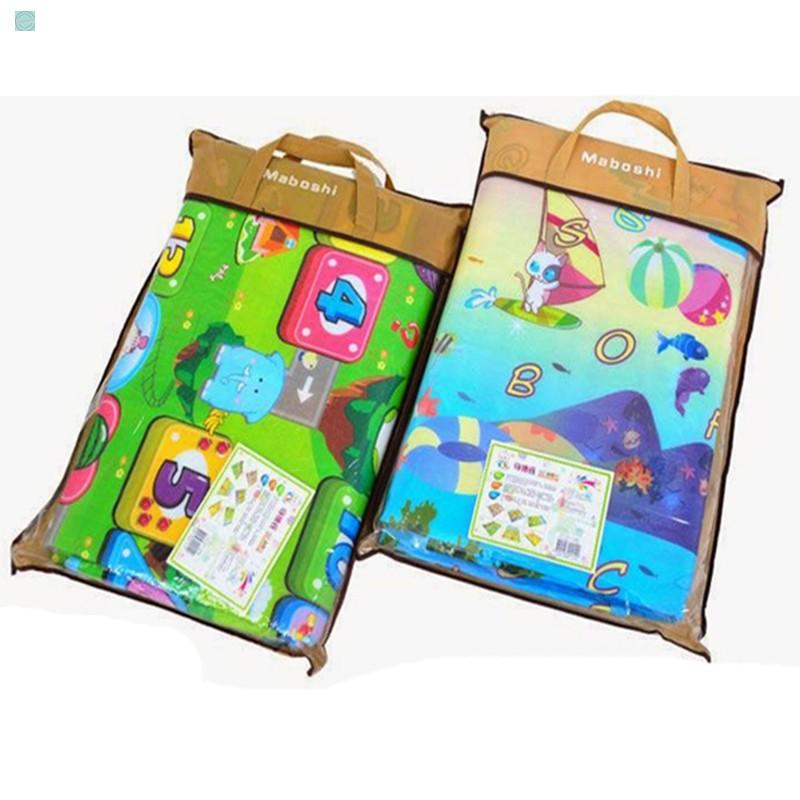 Thảm chơi 2 mặt cho bé Maboshi kích thước 1m8 x 2m. chất liệu cao cấp Ưu Đãi Giảm Giá Sản Phẩm