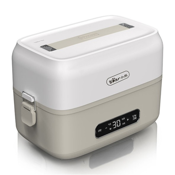 Hộp cơm cắm điện Bear DFH-B15Q1, chức năng hẹn giờ tự động, sử dụng inox cao cấp 304