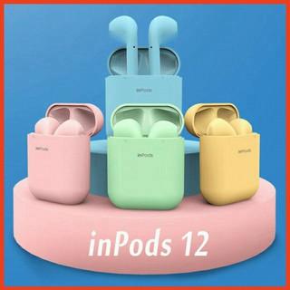 Tai nghe Inpods 12 kết nối Bluetooth kèm hộp sạc