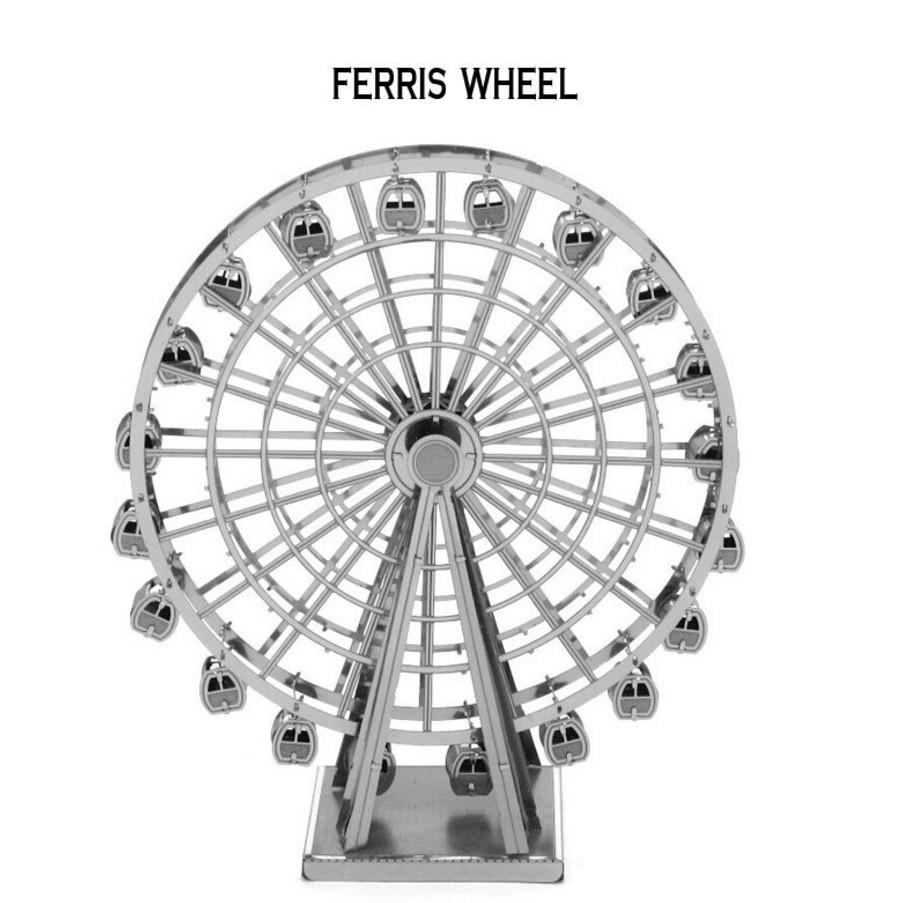 Bộ xếp hình 3D bằng kim loại trí tuệ THE FERRIS WHEEL ALCC