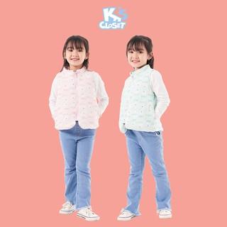 Áo Gile Phao Cho Bé Trai Và Bé Gái In Hình Gấu (2 - 9 Tuổi) K's Closet E046TEF TM