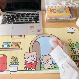 Tấm Lót Chuột & Bàn Phím Dễ Thương, Trang Trí Bàn Học Nhà Kawaii thumbnail