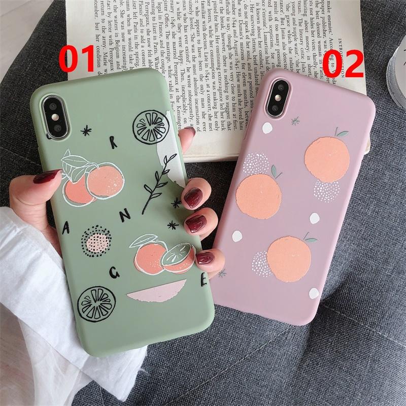 Mobile Phone Case VIVO X9/X20/X20 Plus/X21 Fingerprint/V11(X21S)/X23/X23(Magic Color)/X27/Y66-Orange
