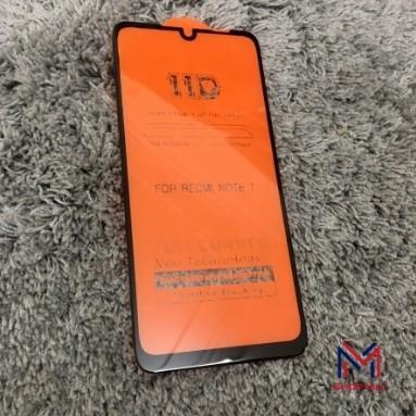 Cường lực 11D Redmi Note 7/Note 7 Pro full màn viền đen mỏng không ăn vào màn hình giống ảnh 100%