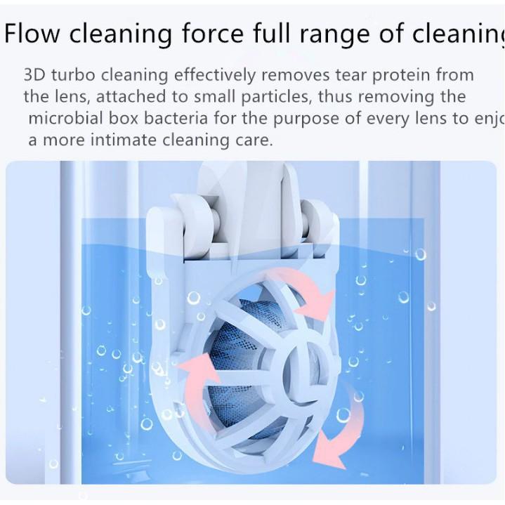 Máy rửa kính áp tròng công nghệ siêu âm EYEKAN Nhật Bản - ASTA STORE YUNO_OFFICIAL