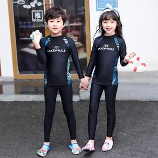 Set Đồ Bơi Dài Tay Chống Nắng Cho Bé Trai Size M-3xl
