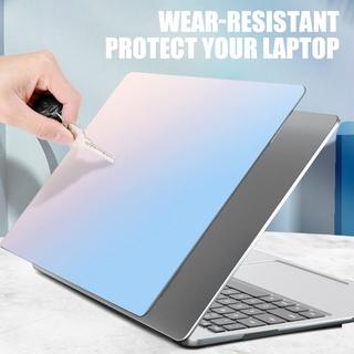 Miếng dán laptop họa tiết cầu vồng cho Macbook Air 11 12 13 15 16 Pro Retina Inch