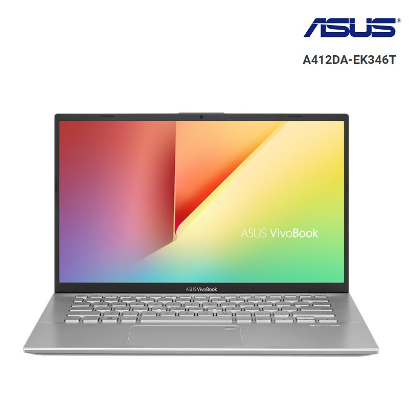 Laptop Asus Vivobook A412DA-EK346T AMD R3-3200U, Win10, 14 FHD - Silver -Chính Hãng