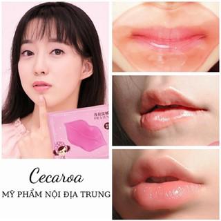 Mask Mặt nạ môi Cherry Lip Mask DƯỠNG VÀ MỀM MÔI CECAROA thumbnail