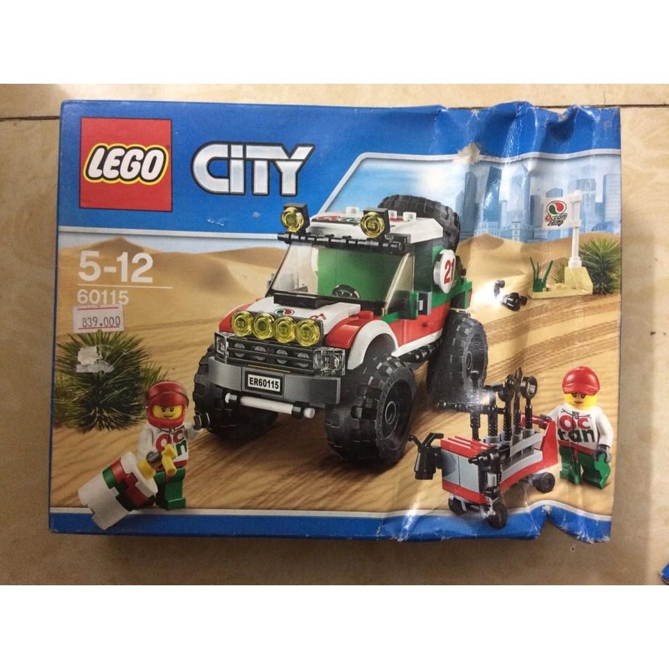 Đồ chơi xếp hình – Xe Đua Địa Hình Lego 60115