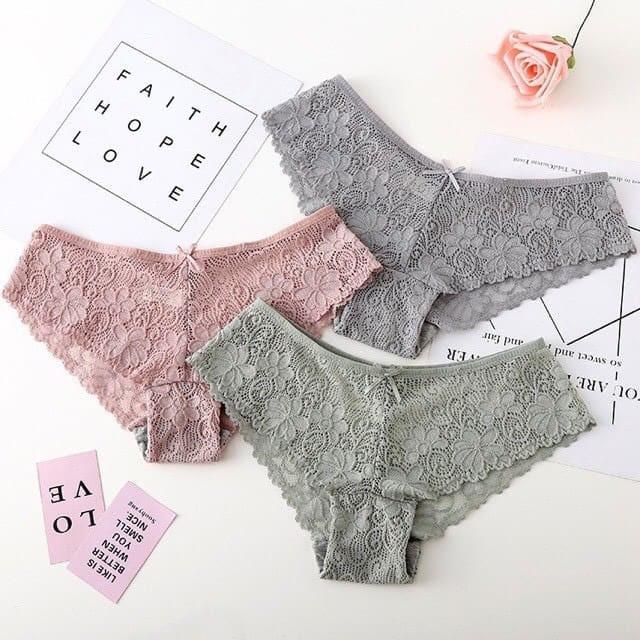 Chíp ren quần lót nữ quần nội y quần lót ren gợi cảm quyến rũ Hàng Loại 1
