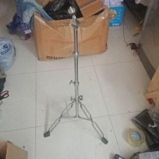 Chân cymbal cộc đôi, chân cajon