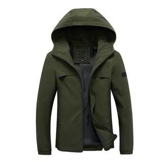 Mens Fashion Hooded Jackets Warm Coat SFGHOUSE