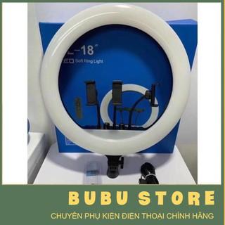 Đèn livestream 45cm cao 2m 3 kẹp có điều khiển RL18 – BUBU