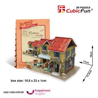 Mô hình giấy Cubic Fun 3D Quán Cà phê (Việt Nam) W3148H