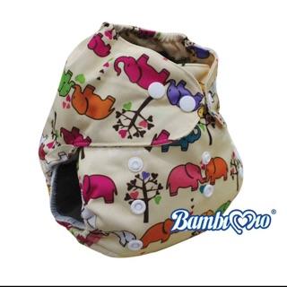 Bỉm vải Bambimio ban đêm cỡ M cho bé từ 3-16kg